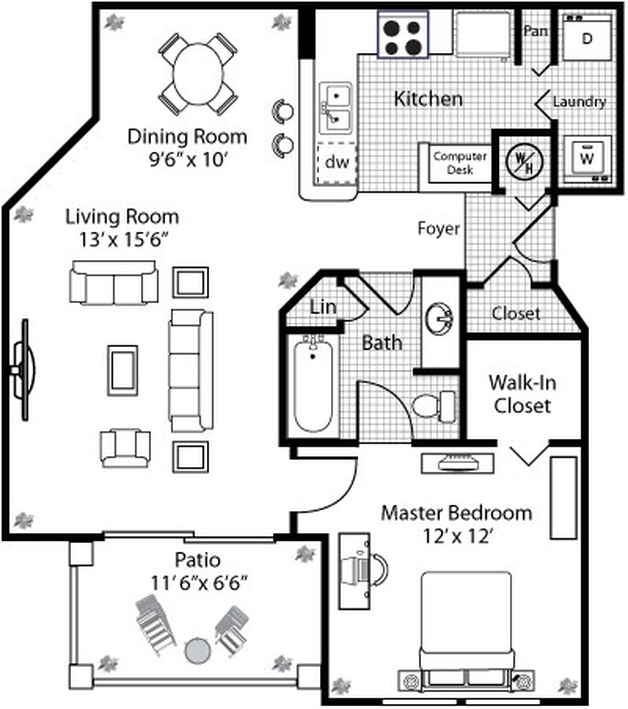 Oberon floor plan